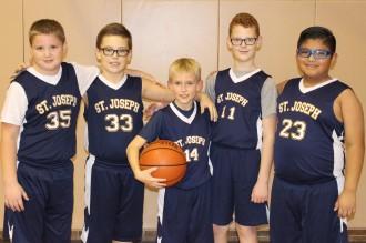 boys on the basketball team