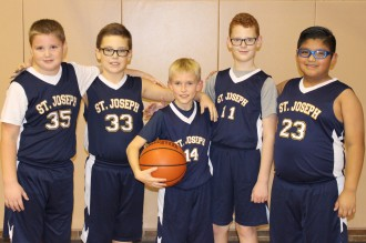 boys on the basketball team